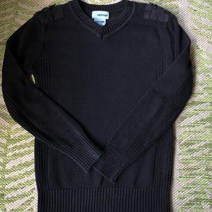 Boys navy blue dress sweater